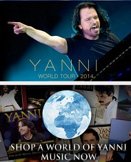 Yanni Concert Schedule 2014