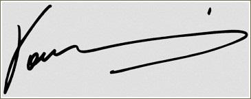 Yanni Signature Autograph