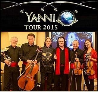 Yanni Band Members 2015